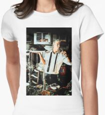 Anthony Bourdain 2 Women's Fitted T-Shirt