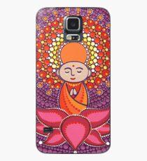 Jizo Meditating upon a Ruby Lotus Hülle & Klebefolie für Samsung Galaxy