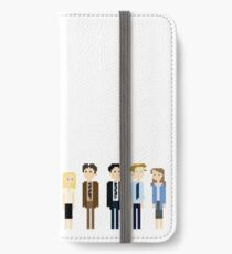 Office Pixel Cast - 10 - Horizontal  iPhone Wallet/Case/Skin