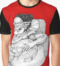 Cigar being Graphic T-Shirt