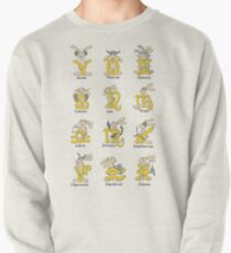 The Twelve signs of the Wabbit Zodiac Pullover Sweatshirt