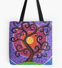 Spiralling Tree of Life Tote Bag