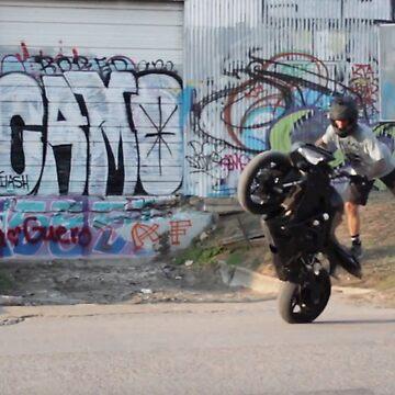 Graffiti Motorcycle  by SamuelMolina