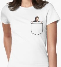 Pocket Tennant Women's Fitted T-Shirt
