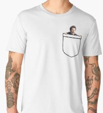 Pocket Tennant Men's Premium T-Shirt