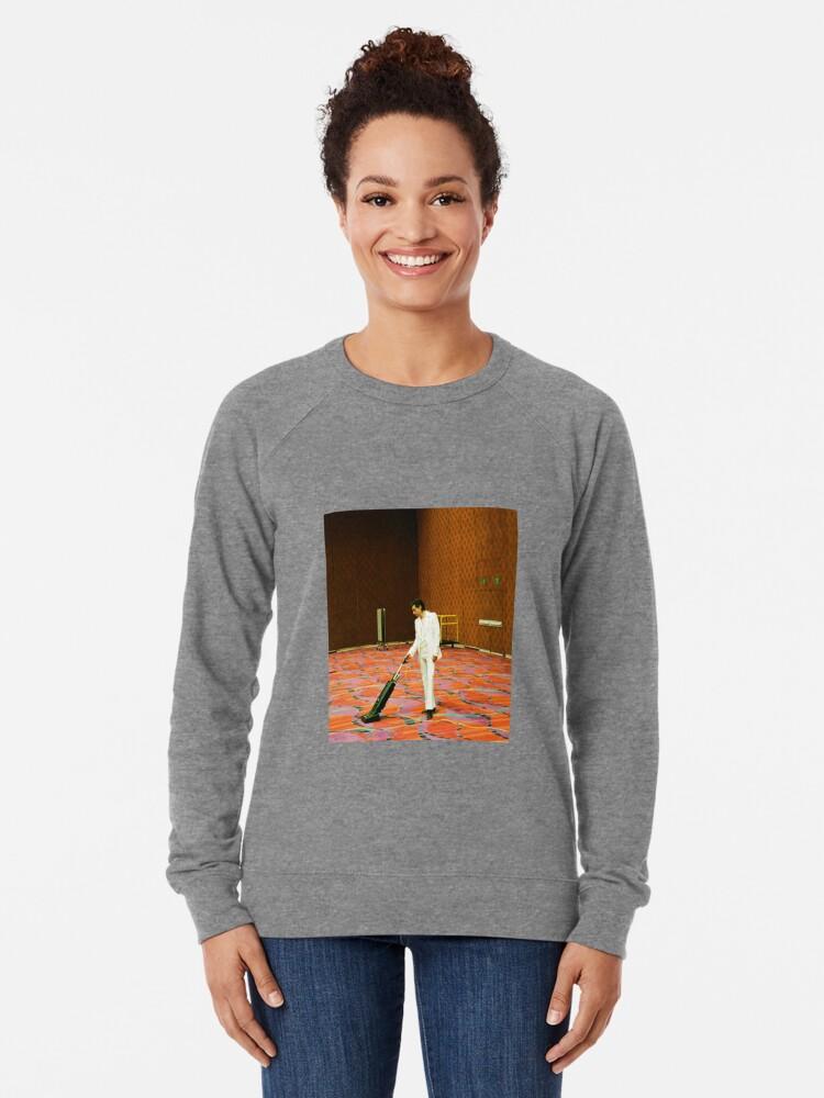 Alternative Ansicht von Ich möchte dein Staubsauger sein Leichter Pullover