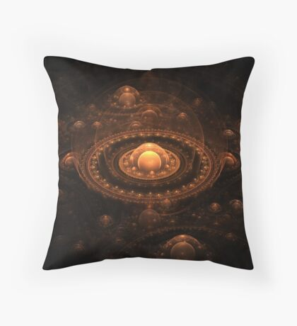 The Copper Cyngdom Throw Pillow