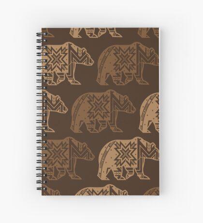 Bear Spirit Spiral Notebook