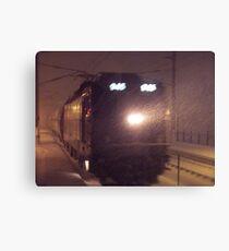 Blizzard Trains - AEM-7  © 2009 Canvas Print