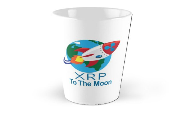 Ripple XRP Rocket Spaceship CryptoCurrency Classic Mugs - Tall