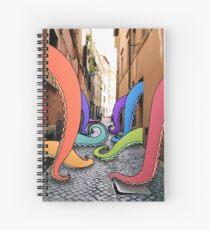 Cuaderno de espiral Callejón