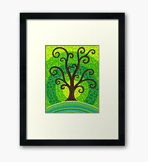 unfurling tree of lushiousness Framed Print