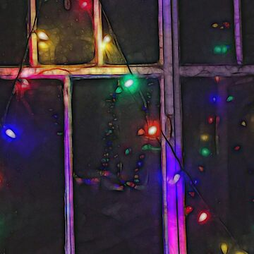 Christmas Lights Refraction by bloomingvine