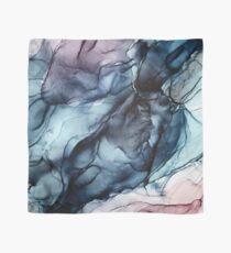 Erröten und Dunkelheit-abstrakter Alkohol-Tinten-Anstrich Tuch