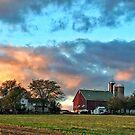 Red Barn Farm by KellyHeaton