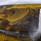 Haifoss Waterfall Iceland by Adrian Alford Photography