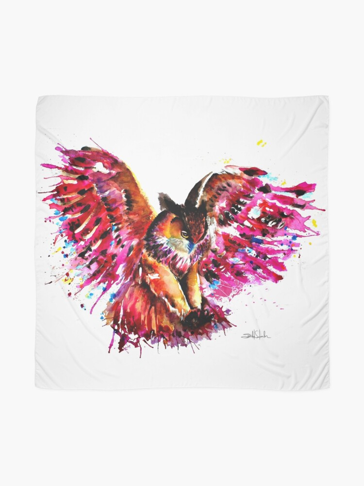 Alternate view of Flying Owl Scarf