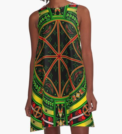 Bear Spirit  A-Line Dress