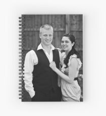 Joe and Laura Spiral Notebook