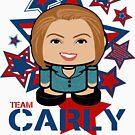 Team Carly Politico'bot Toy Robot by Carbon-Fibre Media