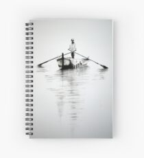 The Boat Man Spiral Notebook