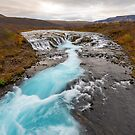 Bruarfoss Waterfall Iceland by Adrian Alford Photography