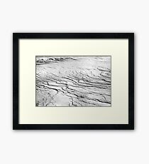 Trace of wind Framed Print