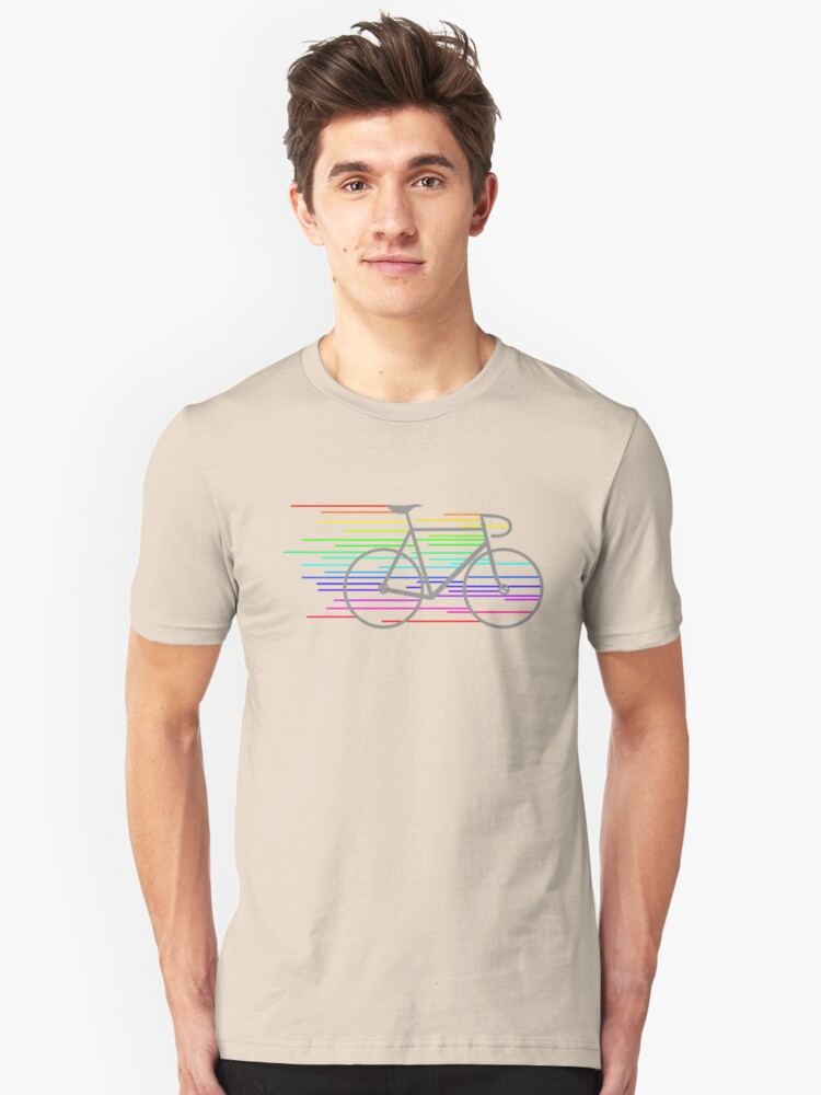 Rainbow Fixed Unisex T-Shirt Front