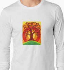Autumn Illuminated Tree Long Sleeve T-Shirt