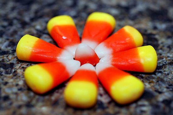 Candy corn (c; by Jodi Morgan