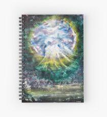 In The Garden Of Meditation Spiral Notebook