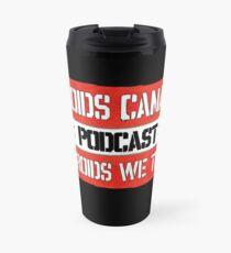 In Droids We Trust Travel Mug