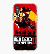 Red Dead Redemption II Cover Poster iPhone Case