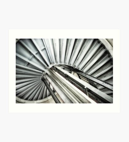 Queensway Tube Station Art Print