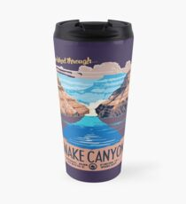 Snake Canyon Hourglass  Travel Mug