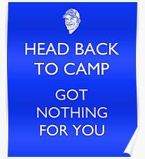 Zurück zum Camp - Überlebender / Probst Poster