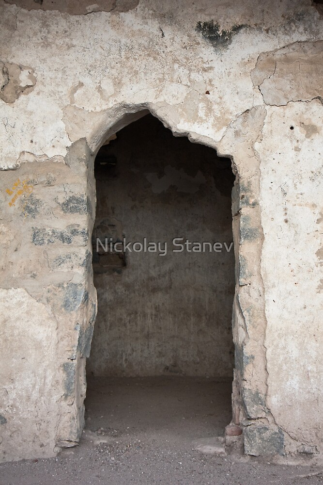 Ancient Horse Stable by Nickolay Stanev