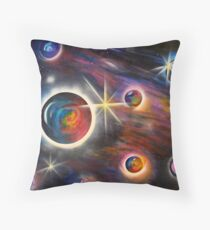 Parallel Universe Throw Pillow