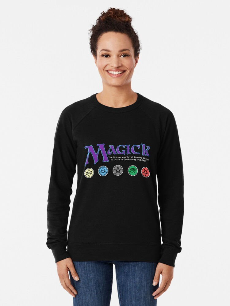 Alternate view of Magick (Parody) Lightweight Sweatshirt