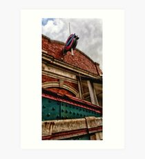 Royal Oak Tube Station Art Print