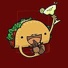 Taco :: Fleischfressende Nahrungsmittelserie von missdaisydee