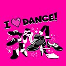 I Love Dance - A Variety of Styles by LunaAndromeda