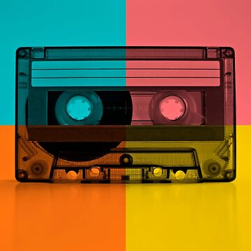 Retro Color Cassette | NOVELTY - GEEKY by mcaussieb