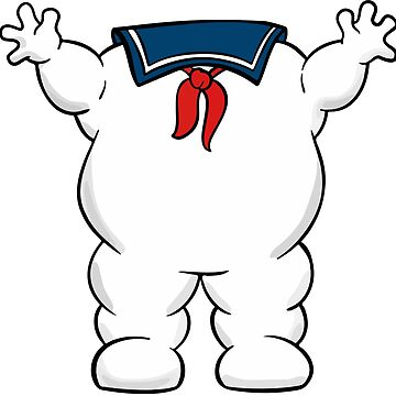 Stay Puft Marshmallow Man Body by imlying