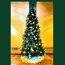Christmas Tree (Yellow Background) by Joe Lach