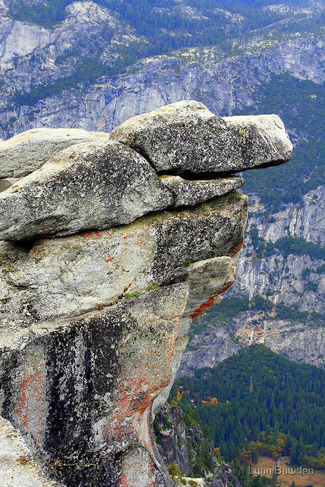 """Overhanging Rock"" by Lynn Bawden"