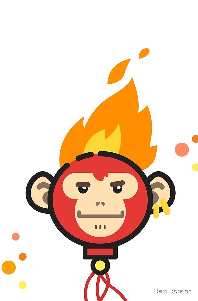 Fire Monkey by Bam Bondoc
