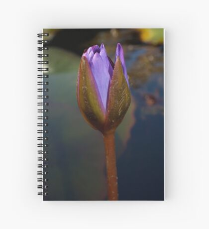 Lily Bud Spiral Notebook