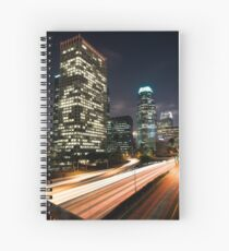 Downtown Los Angeles Freeway Spiral Notebook