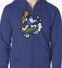 The Raddest Wizard of All Time Zipped Hoodie
